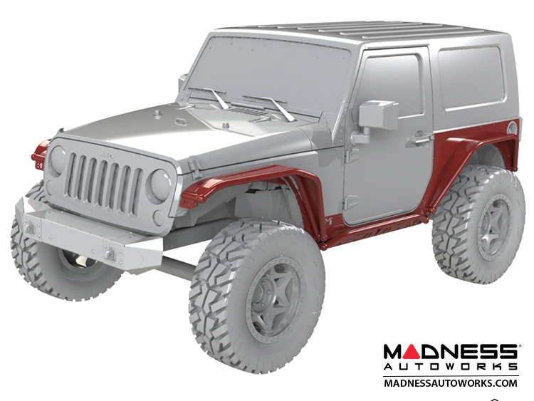 Jeep Wrangler JK Full Overline System - 2 Door