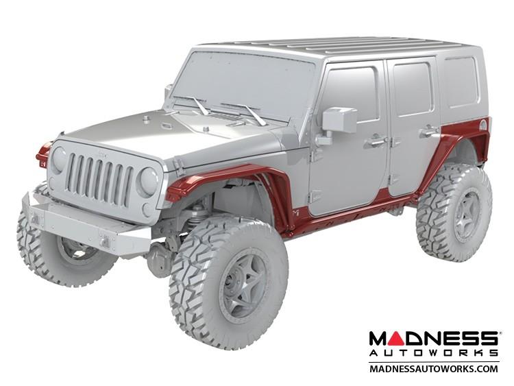 Jeep Wrangler JK Full Overline System - 4 Door