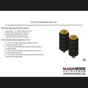 "Jeep Wrangler JK True Dual-Rate Lift Kit - 2.5""/3.5"""