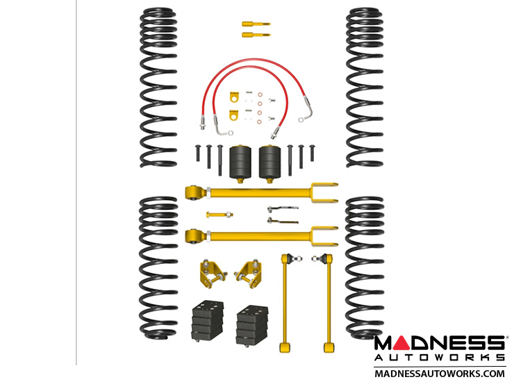 Jeep Wrangler JK True Dual-Rate Lift Kit - 2.5""
