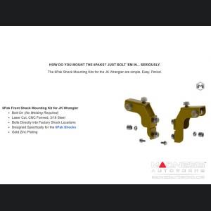 "Jeep Wrangler JK 6Pak Long Travel Upgrade Kit - 3.5"""