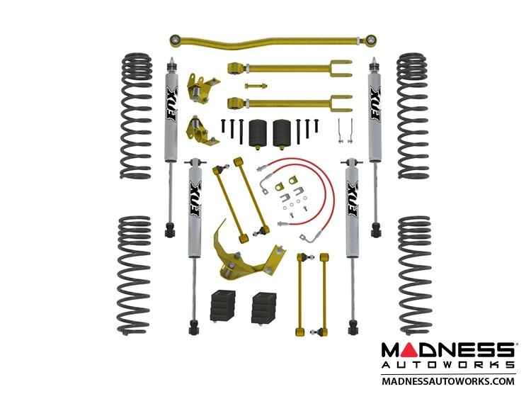 """Jeep Wrangler JK True Dual-Rate Lift Kit - 2.5""""/3.5"""" - Fox Edition"""