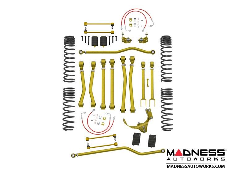 """Jeep Wrangler JK Game-Changer 2.5""""/3.5"""" Suspension - No Shock Edition"""
