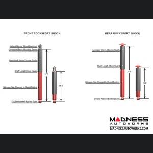 "Jeep Wrangler JK True Dual-Rate Lift Kit - 2.5""/3.5"" - RockSport Edition - by MetalCloak"
