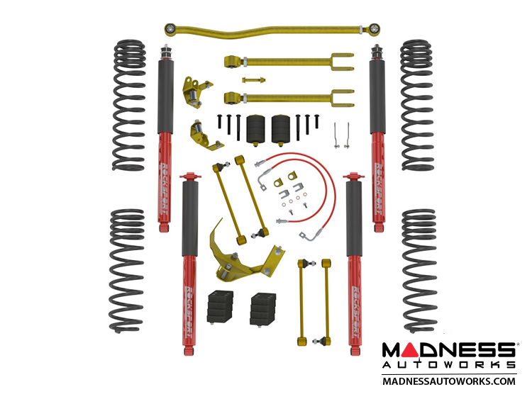 "Jeep Wrangler JK True Dual-Rate Lift Kit - 2.5""/3.5"" - RockSport Edition"