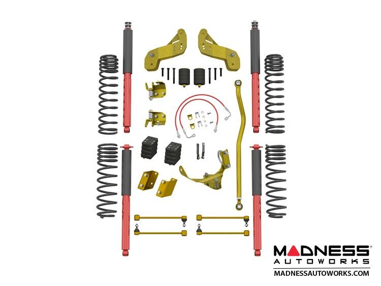 """Jeep Wrangler JK Overland Sport Suspension - 2.5""""/3.5"""" - RockSport Edition"""