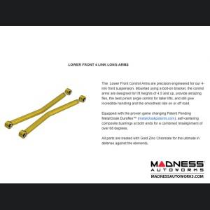 "Jeep Wrangler JK 4-Link Long Arm Compound Suspension System - 4.5""/5.5"" - 6Pak Edition"