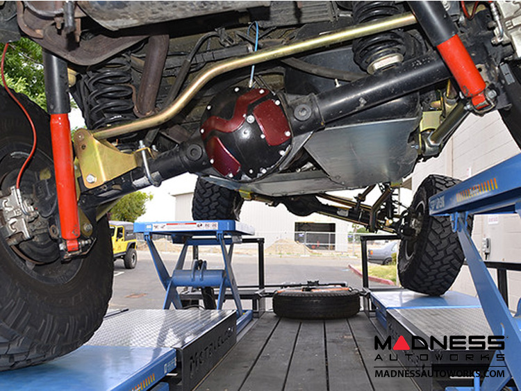 Jeep Wrangler JK 4-link Long Arm Compound Suspension - 4 5