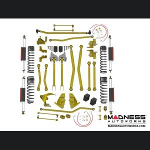 "Jeep Wrangler JK 4-link Long Arm Compound Suspension - 4.5""/5.5"" - RockSport L/T Edition"