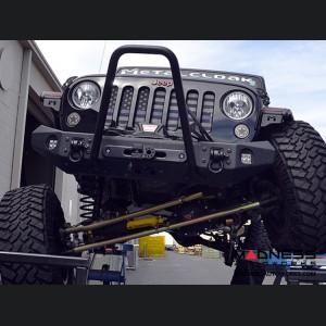"Jeep Wrangler JK Lock-N-Load Long Arm Compound Suspension - 4.5""/5.5"" - No Shock Edition"