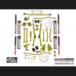 "Jeep Wrangler JK Lock-N-Load Long Arm Compound Suspension - 4.4""/5.5"" - RockSport L/T Edition"