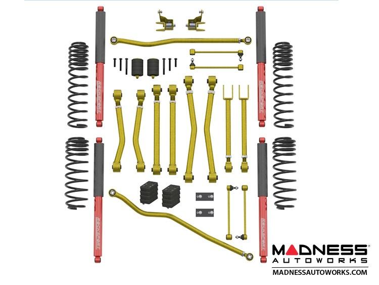 """Jeep Wrangler JL Suspension Kit - Game Changer - 2.5""""/3.5"""" - RockSport Edition"""