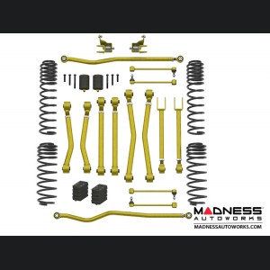 "Jeep Wrangler JL Suspension Kit  - Game Changer - 2.5""/3.5"" - No Shock Edition"