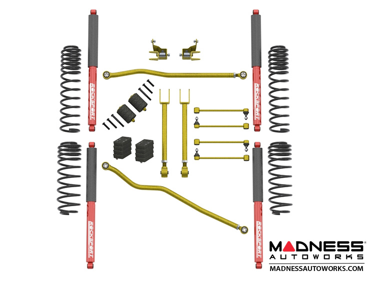 "Jeep Wrangler JL Dual-Rate Lift Kit  - 2.5""/3.5"" - RockSport Edition"