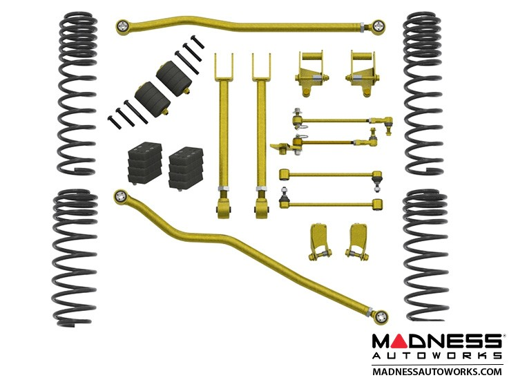 "Jeep Wrangler JL True Dual-Rate Lift Kit  - 2.5""/3.5"" - No Shock Edition"