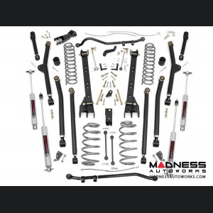 "Jeep Wrangler TJ Unlimited Long Arm Suspension Lift Kit - 6"" Lift"