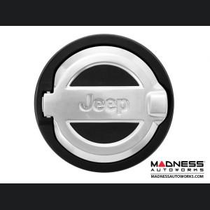 Jeep Wrangler JL Fuel Door - Cast Aluminum