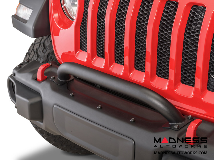 Jeep Wrangler JL Grille and Winch Guard