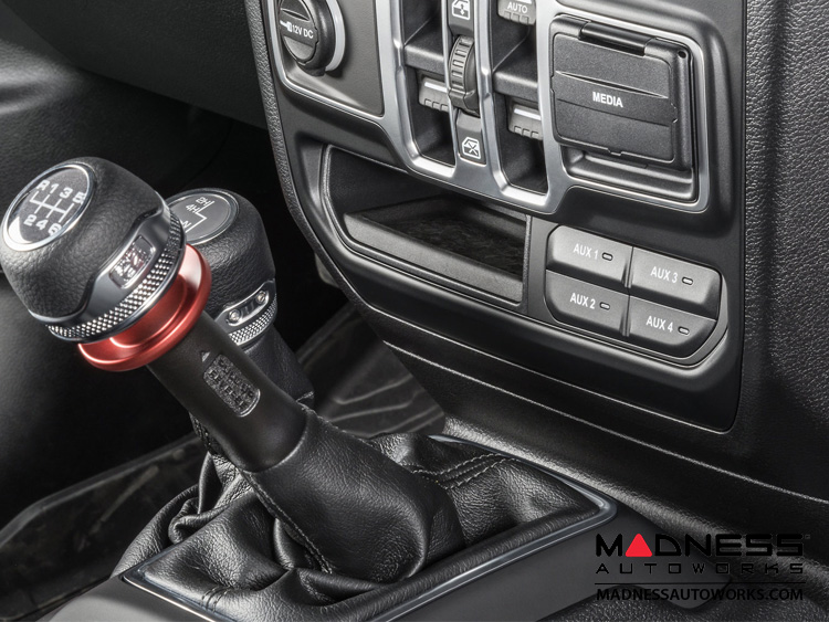 Mopar Credit Card >> Jeep Wrangler JL Auxiliary Switch Bank - Black - MADNESS ...