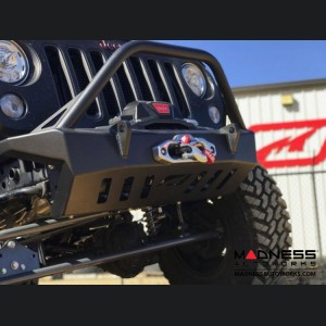 Jeep Wrangler JK Front Bumper - Crusher Series w/ Stinger