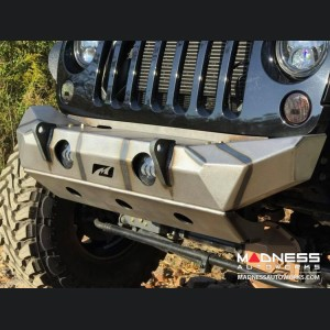 Jeep Wrangler JK Front Bumper - The Hammer w/ Fog Lights