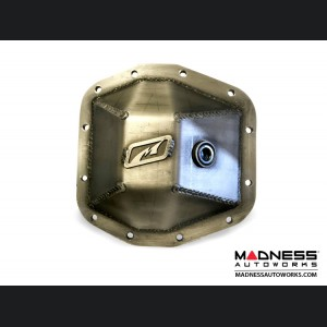 Jeep Wrangler JL Differential Cover Front & Rear Package - Rubicon Dana 44 Bare Steel