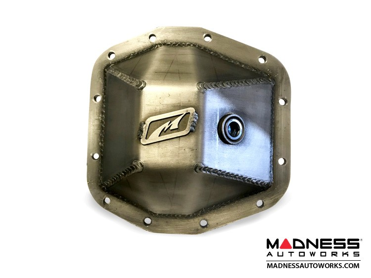Jeep Wrangler JL Differential Cover Front - Rubicon Dana 44 Bare Steel