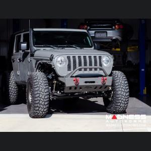 Jeep Wrangler JL Front Bumper - w/Bull Bar - Crusher