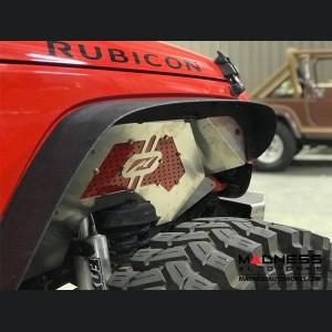 Jeep Wrangler JK Front Inner Fenders - Aluminum