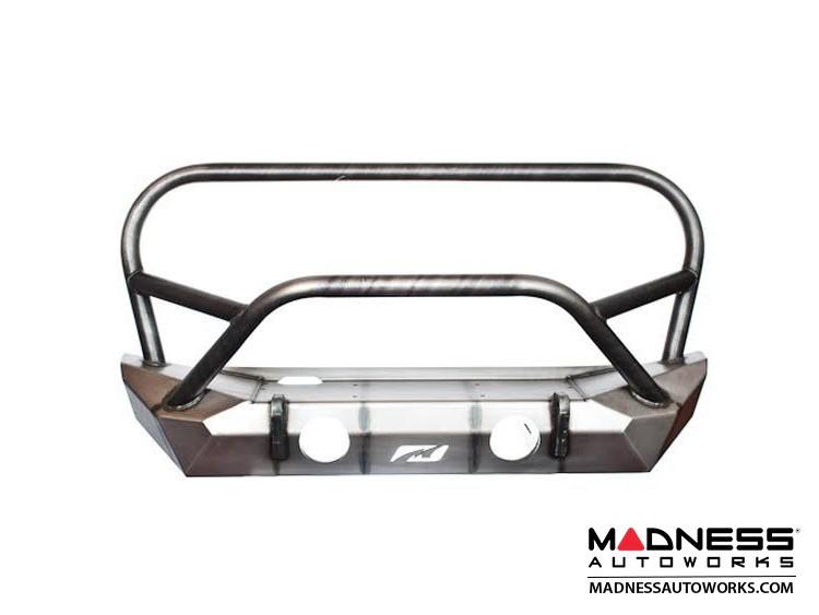 Jeep Wrangler JK Front Bumper - Hammer Series w/ Grill Hoop and Stinger