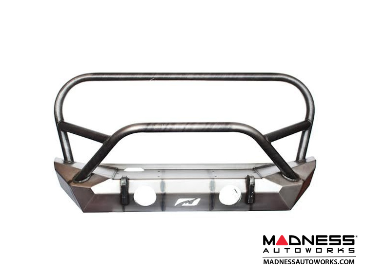 Jeep Wrangler JK Front Bumper - Hammer Series w/ Grill Hoop and Stinger