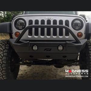 Jeep Wrangler JK Front Bumper - Hammer Series w/ Stinger