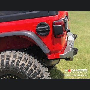 Jeep Wrangler JL Rear Bumper - Crusher with Spare Tire Cut Out