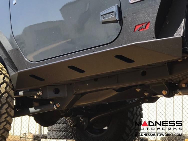 Jeep Wrangler JK Rocker Guards w/Step - Crusher Series