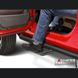 Jeep Wrangler JL Nerf Bar - Set - N-Fab - Textured Black