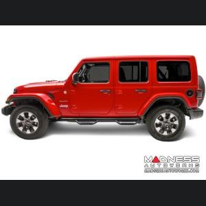 Jeep Wrangler JL Nerf Bar - Set - N-Fab - Textured Black
