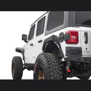 Jeep Wrangler JL Rear Fenders - Rock Fighter