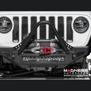 Jeep Wrangler JL Winch Bumper - Front - Rock Fighter