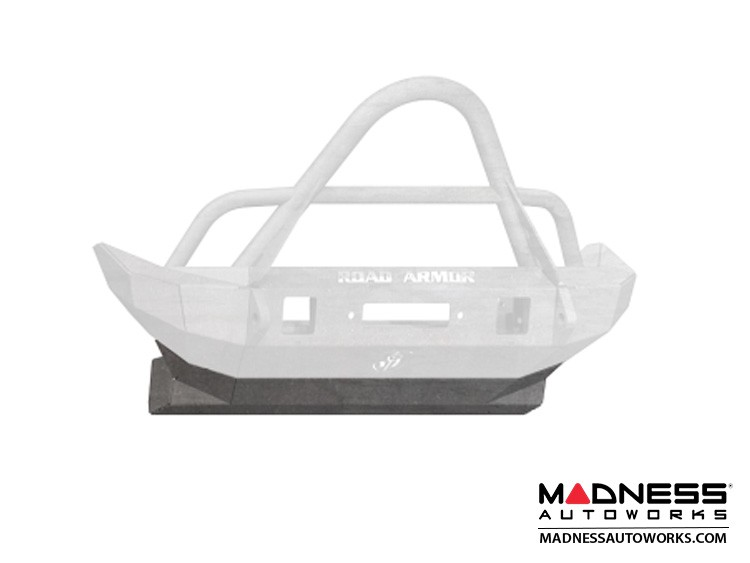 Jeep Wrangler JL Stealth Front Skid Plate - Mid Width - Raw Steel