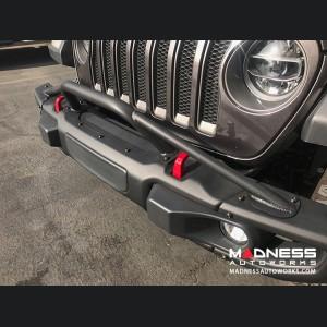 Jeep Wrangler JL Rubicon Full Width Bumper Hoop - 4 Point