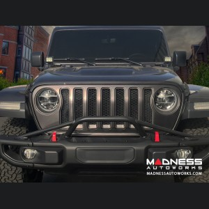 Jeep Wrangler JL Rubicon Full Width Bumper Hoop - 4 Point