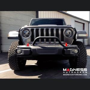 Jeep Wrangler JL Rubicon Skinny Bumper Hoop - 2 Point