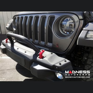 Jeep Wrangler JL Rubicon Skinny Bumper Hoop - 2 Point