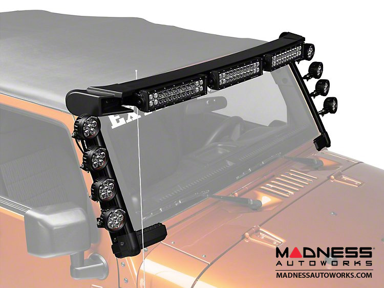 Jeep Wrangler JK Elite Fast Track Kit - 3 Bars/8 Rounds