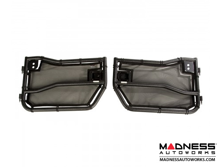 Jeep Wrangler JK/JKU Front Tube Doors Kit with Eclipse Covers
