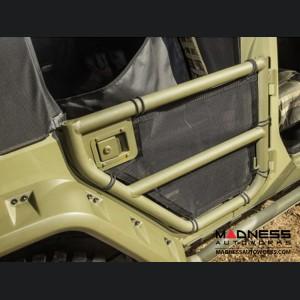 Jeep Wrangler JKU Tube Door Kit w/ Eclipse Covers - Front & Rear - 4Door