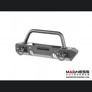 Jeep Wrangler JK XHD Bumper Kit Stubby Ends w/ Overrider Hoop - Front