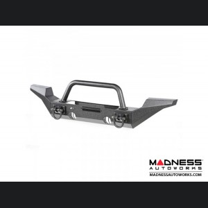 Jeep Wrangler JK XHD Bumper Kit/High Clearance Ends w/ Overrider Hoop - Front