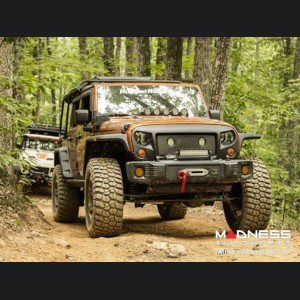 Jeep Wrangler JK/JKU Spartacus Stubby Bumper - Black