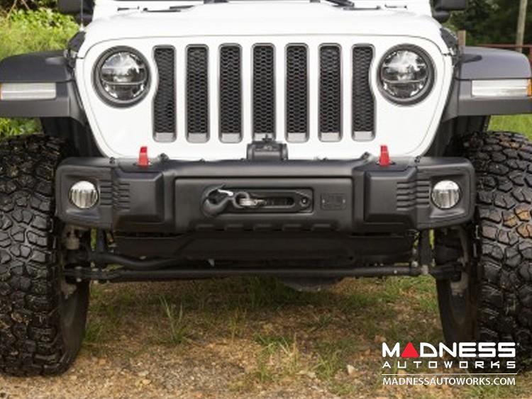 Jeep Wrangler JL Spartacus Stubby Bumper - Front - Black